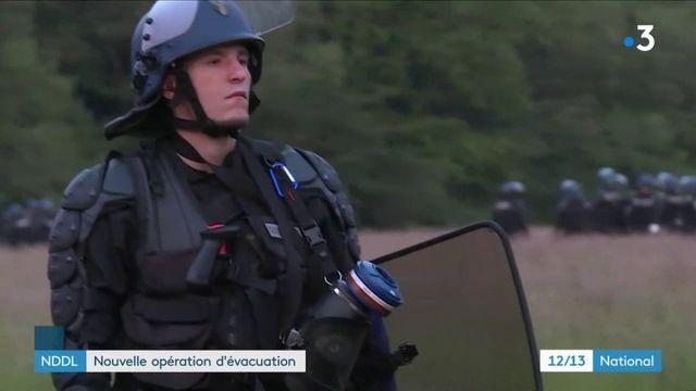 Notre-Dame-des-Landes : nouvelle opération d'évacuation