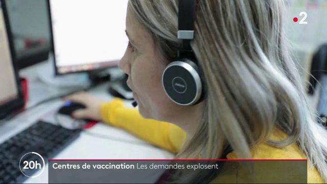 Vaccin contre le Covid-19 : à Carpentras, le centre de vaccination est déjà saturé