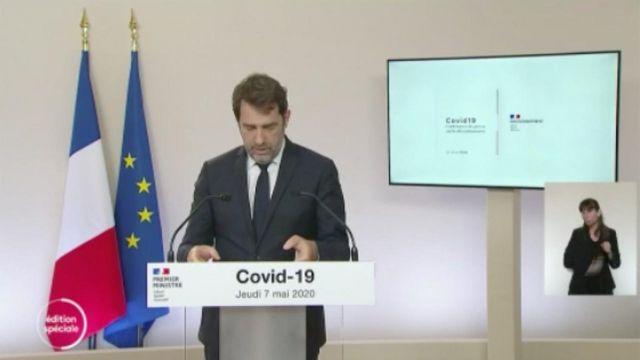 Christophe Castaner énonce les nouvelles règles de déplacement