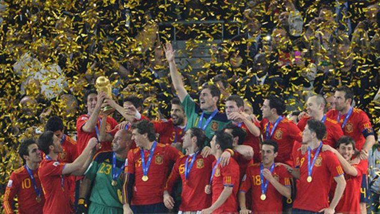L'Espagne a soulevé pour la première fois de son histoire la Coupe du monde