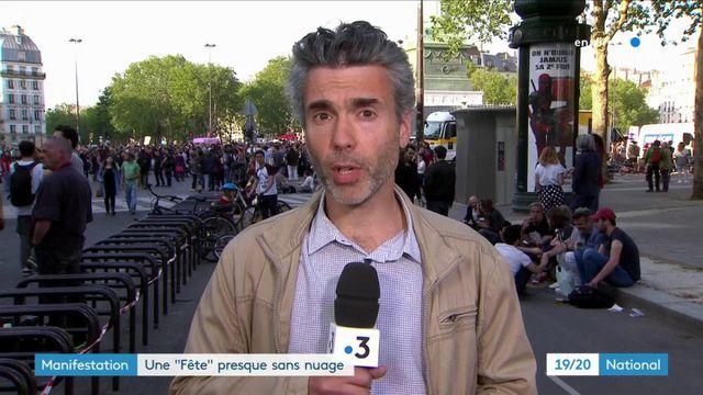 Fête à Macron : peu d'incidents à déplorer lors de la manifestation parisienne