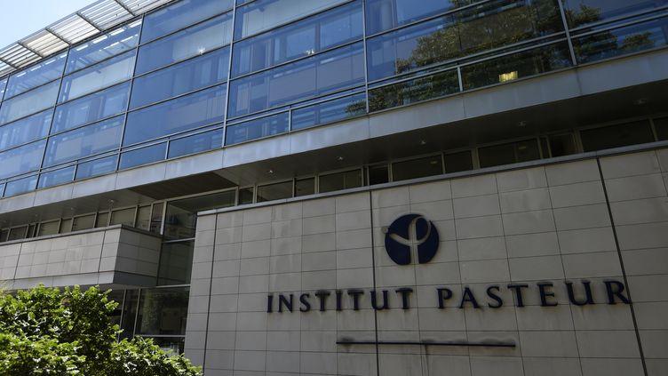 La facade de l'institut Pasteur à Paris (BERTRAND GUAY / AFP)