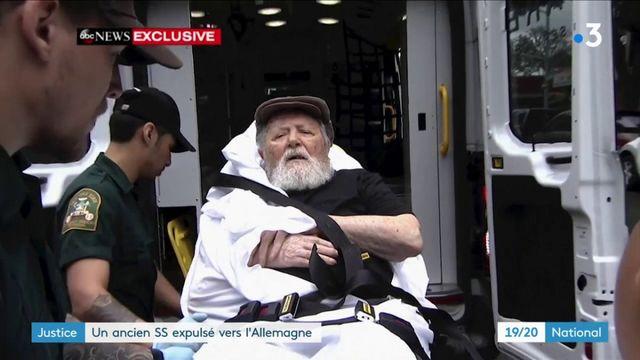 Justice : un ancien SS expulsé vers l'Allemagne