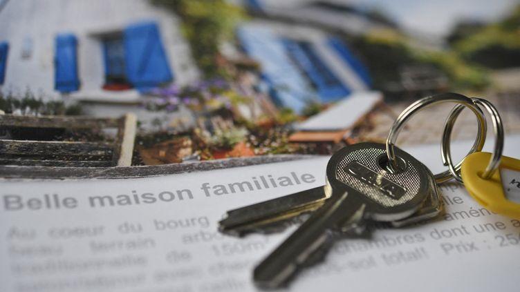 Crédit immobilier (illustration). (FRED TANNEAU / AFP)