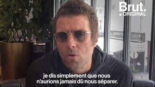 """VIDEO. """"Il voulait le groupe pour lui tout seul"""" : Liam Gallagher revient sur la séparation d'Oasis (BRUT)"""