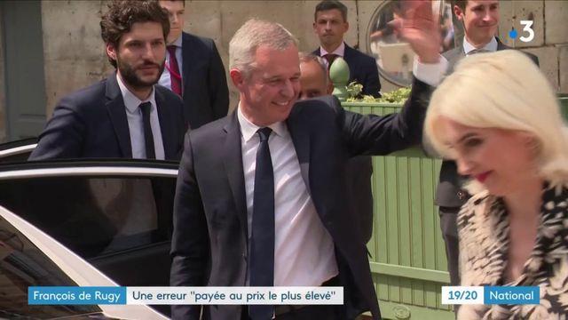 François de Rugy : un discours et une passation de pouvoir teintés d'amertume