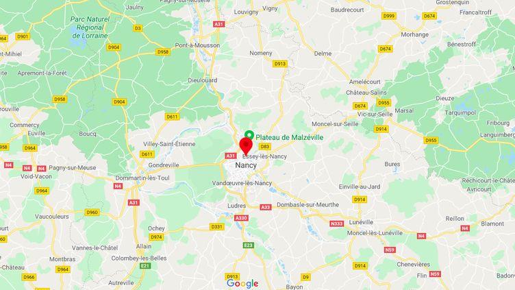 L'homme a été interpellé à son domicile de Malzéville, en Meurthe-et-Moselle. (GOOGLE MAPS)