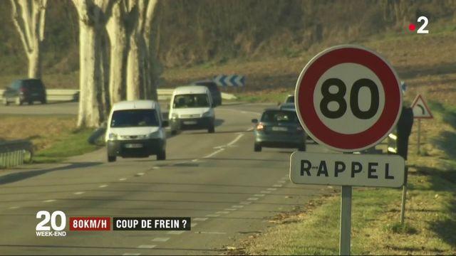 Coup de frein sur la limitation à 80 km/h ?