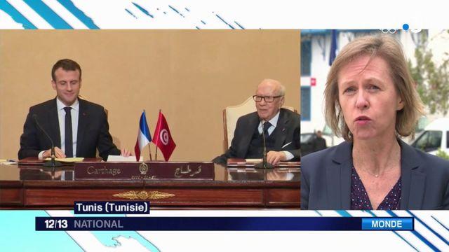 Tunisie : Emmanuel Macron en visite pour lutter contre le terrorisme