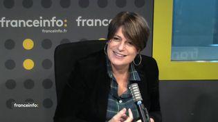 Sophie Revil a créé la série policière en 2009. (CAPTURE ECRAN / FRANCEINFO)