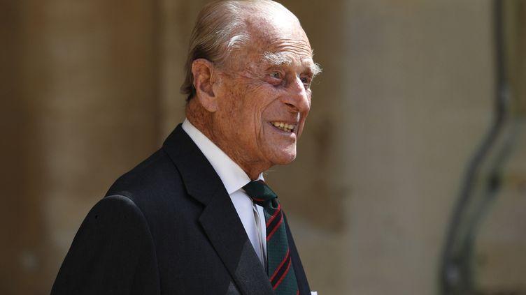 Philip, le duc d'Edimbourg, au château de Windsor, le 22 juillet 2020. (AFP)