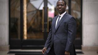 L'ancien Premier ministre ivoirien Guillaume Soro, le 29 janvier 2020, à Paris. (LIONEL BONAVENTURE / AFP)