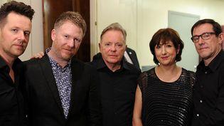 Le groupe electro-pop New Order sortira un album en septembre  (Dimitrios Kambouris / GETTY IMAGES NORTH AMERICA / AFP)