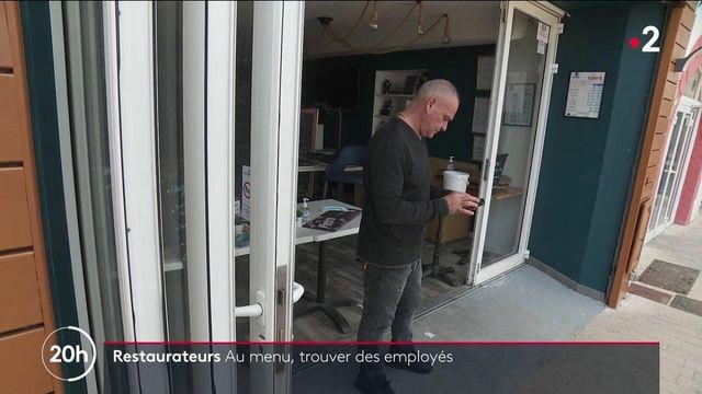 Réouverture des terrasses : les restaurateurs à la recherche d'employés