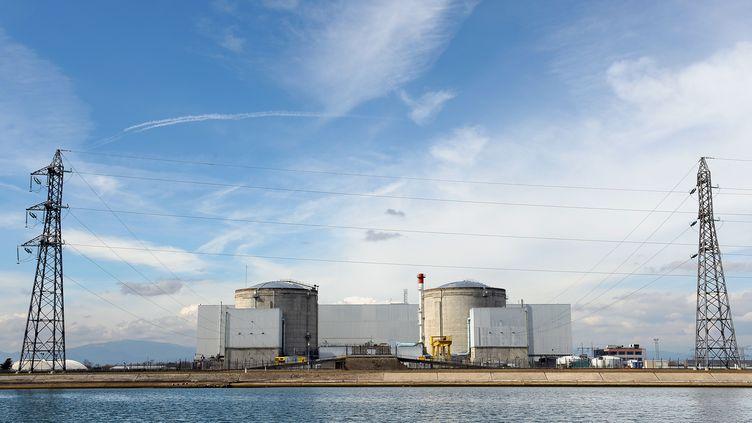 La centrale nucléaire de Fessenheim (Haut-Rhin), le 14 mars 2011. (FREDERICK FLORIN / AFP)