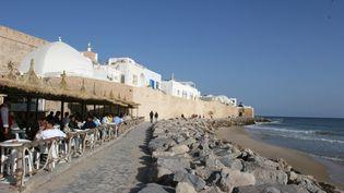 Le front de mer à Hammamet, en Tunisie, le 14 novembre 2014. (  MAXPPP)