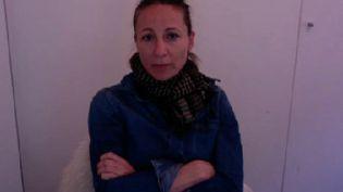 Véronique de Viguerie, photoreporter, lors d'un entretien avec franceinfo, le 10 décembre 2018. (FRANCEINFO)