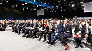 Le public assiste aux débats de la COP24 à Katowice, en Pologne (4 décembre 2018)  (Dominika Zarzycka / NurPhoto / AFP)