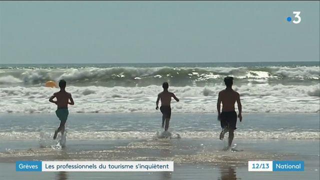 Grèves : les professionnels du tourisme s'inquiètent