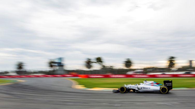 Felipe Massa a pris la troisième place des essais qualificatifs du grand prix de Melbourne sur Williams.  (ASANKA BRENDON RATNAYAKE / ANADOLU AGENCY)