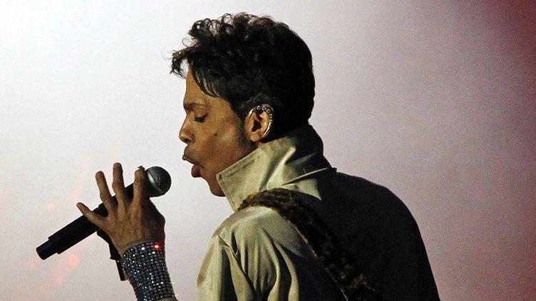 Prince le 3 juillet 2011 au Hop Farm Festival, dans le Kent, en Grande-Bretagne  (IPA Press / Sipa)