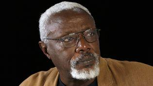 Ousmane Sow, octobre 2006 à Paris  (BERTRAND GUAY / AFP)