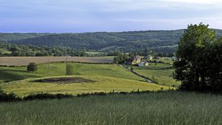 Une vue de la campagne près du village d'Aubusson, dans la Creuse. (JOEL DAMASE / PHOTONONSTOP)