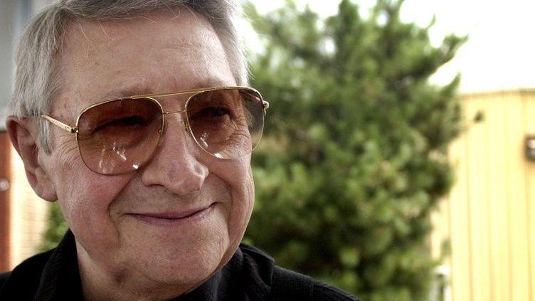 Scooty Moore (guitariste d'Elvis Presley) en 2004  (Mike Brown / Getty Images North America / AFP)