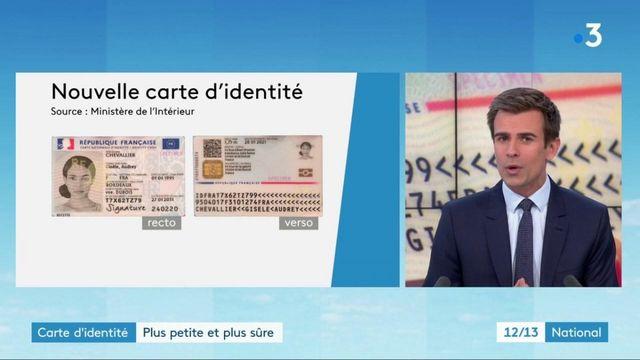 Carte d'identité : plus petite et plus sécurisée, une nouvelle carte pour éviter les fraudes