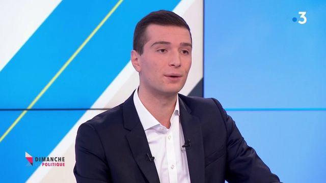 """Jordan Bardella : """"Lutter contre les forces islamistes à l'étranger c'est empêcher que ces combattants arrivent sur le territoire"""""""