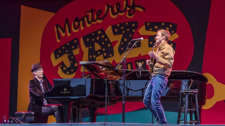 Brad Mehldau le 18 septembre 2017 sur la scène du festival de jazz de MontreuxNO (EDUCATION IMAGES / UNIVERSAL IMAGES GROUP EDITORIAL / GETTY IMAGES NO)