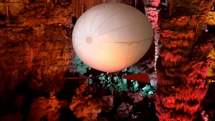 L'aéroplume de la grotte de la Salamandre  (France 3 / Culturebox)