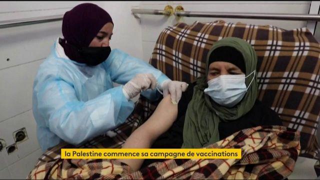 Covid-19 : la Palestine lance sa campagne de vaccination