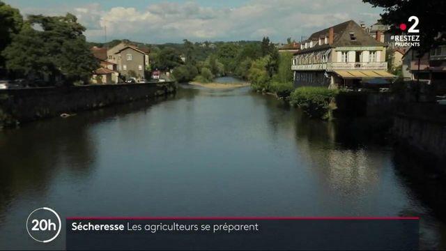 Sécheresse : le Lot se prépare pour éviter la pénurie en eau
