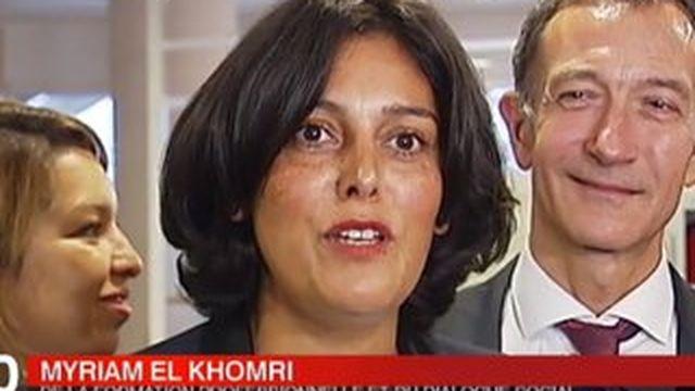 Myriam El Khomri, de la mairie de Paris au ministère du Travail
