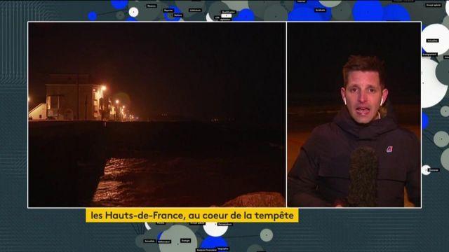 Pas-de-Calais : Tempête Ciara inquiète les habitants de Wimereux