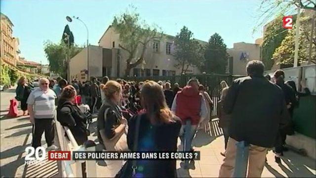 Débat : des policiers armés dans les écoles ?