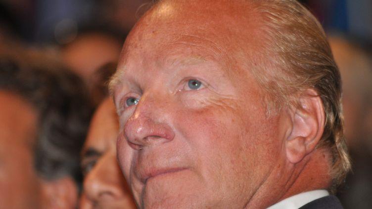 Le député européen et ex-ministre de l'Intérieur Brice Hortefeux à Marseille (Bouches-du-Rhône) le 2 septmebre 2011. (CITIZENSIDE / ZAER BELKALAI)