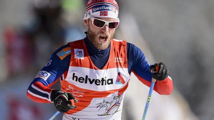Martin Sundby (FABRICE COFFRINI / AFP)