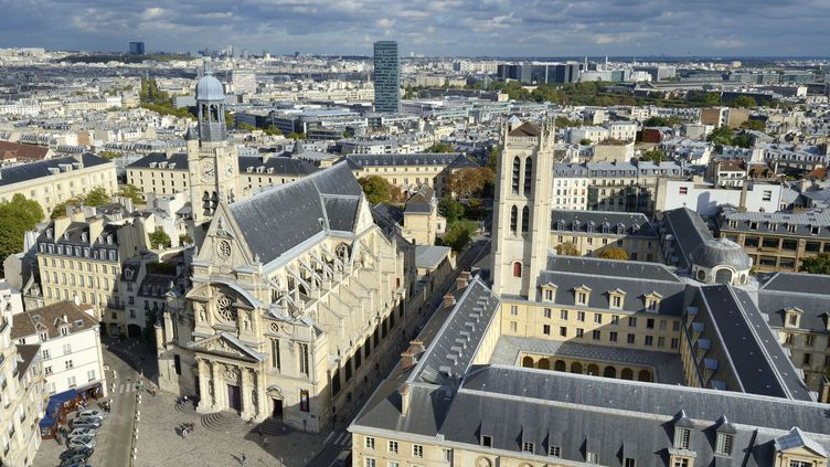 Vue du quartier latin, et notamment du lycée Henri IV, le 5 octobre 2012. (RIEGER BERTRAND / HEMIS.FR / AFP)