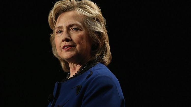 L'ancienne secrétaire d'Etat américaine Hillary Clinton en Floride (Etats-Unis) le 26 février 2014. (JOE RAEDLE / GETTY IMAGES / AFP)