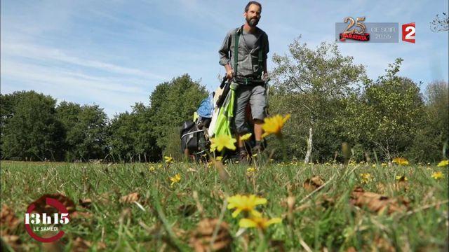 """VIDEO. """"13h15"""". Pour Vianney, guide de la faune et de la flore, la nature est un véritable garde-manger..."""