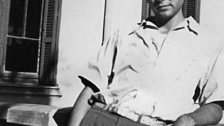 Photo prise autour de 1950 du mathématicien français Maurice Audin à Alger, quelques années avant son arrestation et sa disparition, le 11 juin 1957. (AFP)