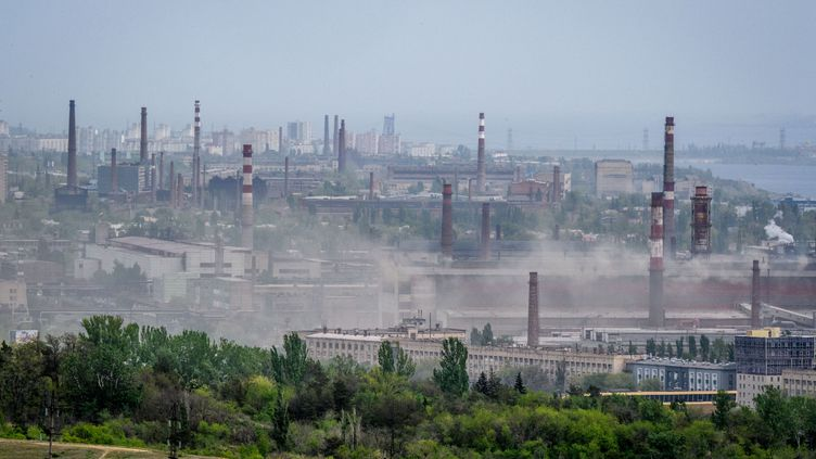 Pollution à Volgograd, en Russie, en mai 2018. (MLADEN ANTONOV / AFP)
