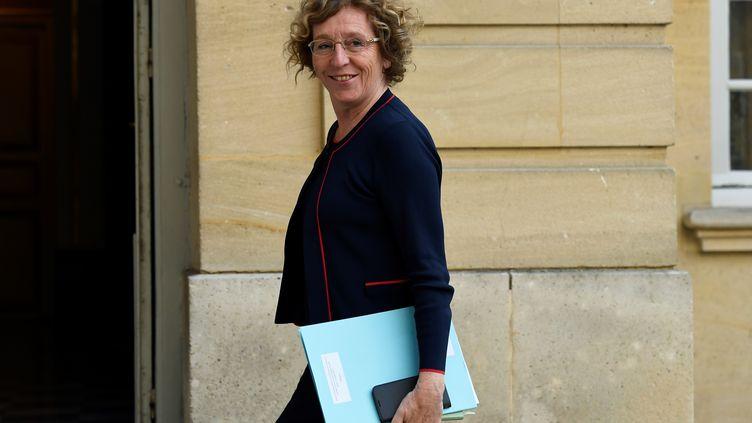 Muriel Pénicaud, ministre du Travail, à Matignon à Paris. (BERTRAND GUAY / AFP)