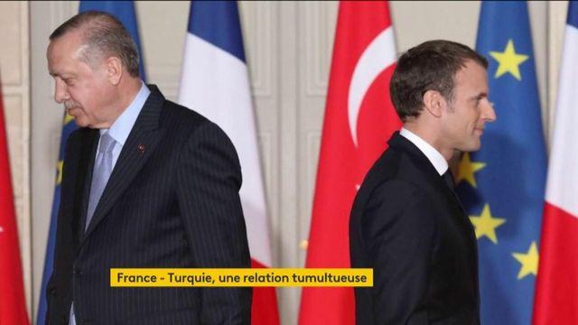 """Libye : pour Macron, la Turquie ne s'est pas comporté """"comme un allié"""""""