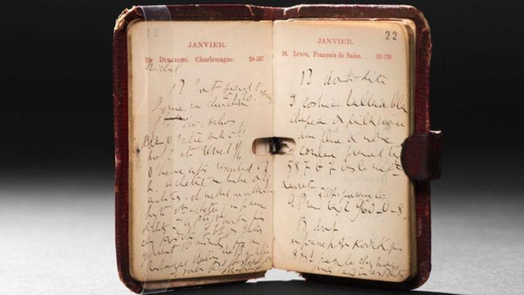 Agenda 1906, Proust  (BnF)