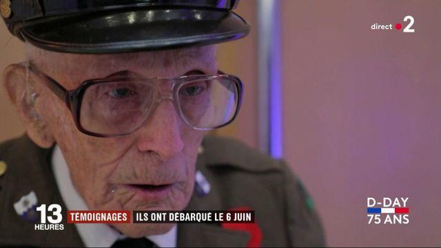 Débarquement : deux vétérans américains racontent leur arrivée en Normandie