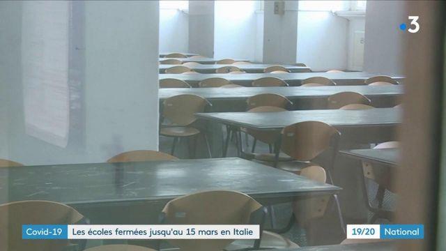 Covid-19 en Italie : les écoles fermées jusqu'au 15 mars