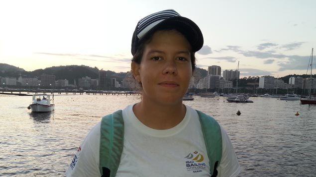 (Gabriella, navigatrice pro de 19 ans © RF/ Alice Serrano)
